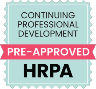 HRPA Certification Pre-Approved Logo